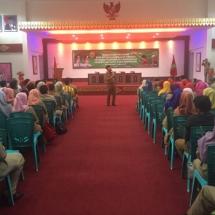 Walikota Tanjungpinang Lis Darmansyah Memberikan Penjelasan Tentang Manfaat BPJS Ketenagakerjaan Bagi Honorer Pemko