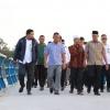 Tahun 2019 Jembatan Pengujan Disuplai Rp 4 Miliar