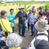 Memastikan Produksi Pertanian, Nurdin Cek Kondisi Tanggul