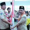 Pengurus Mabicab dan Kwarcab Gerakan Pramuka Kabupaten Bintan Masa Bhakti 2017-2022 Dilantik
