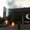 Nahas…Ngengkol Motor Malah Terbakar di SPBU
