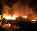 Kampung China Terbakar, Rumah Ludes dalam 5 Jam