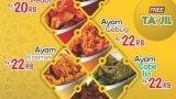Ramadan, Ayam Goreng Fatmawati Sedia Paket Berkah Plus Takjil