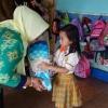 Kunjungi PAUD Talitha Ceria, Istri Wako Tanjungpinang Diberi Hadiah Bunga