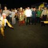 Berlayar Malam Hari, Nurdin Sambangi Kabupaten Lingga