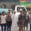 Stok Air Berkurang, Polsek Barat Kirim 5.000 Liter ke Masjid Al-Muhajirin