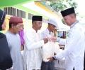Jelang Idul Fitri, Wako dan Wawako Bagikan Paket Sembako