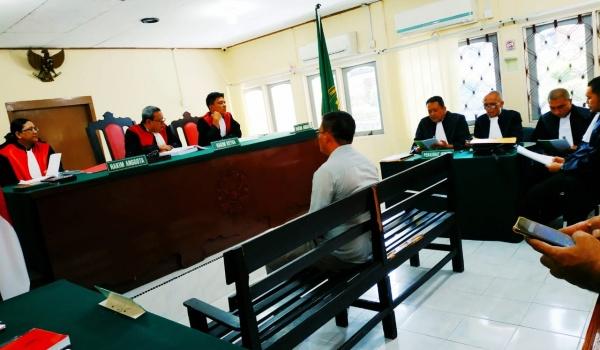 Didakwa Hilangkan Suara Caleg, Ketua PPK Bintim Terancam 1 Tahun Penjara