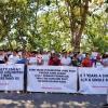 """Minta """"Diusir"""" dari Indonesia, 300 Imigran Asing Demo di Kantor IOM Tanjungpinang"""