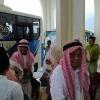 Kesenian Gendong Sambut Kedatangan Jamaah Haji Natuna