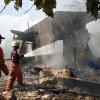 Hanya 30 Menit, Rumah Ramli di Air Raja Ludes Terbakar
