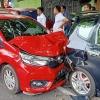 Tabrak Mobil yang Lagi Parkir di Jalan Pemuda, Kerugian Capai Rp 100 Juta