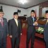 Plh Ketua PN Natuna Lantik Pimpinan DPRD Periode 2019-2024