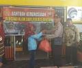 Bantuan Sembako Polres Bintan Disambut Haru Warga Tambelan