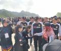 233 Peserta Bela Negara Ikut Pelayaran Gembira Bersama KRI Milik TNI AL