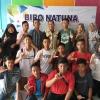 15 Pelajar Berkreasi Lewat Puisi di Kantor Hariankepri Biro Natuna