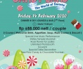 Rayakan Malam Valentine dengan Beragam Menu Dinner di Hotel CK