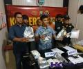 Satnarkoba Pinang Berhasil Tangkap Kurir 8,5 Kilogram Sabu