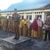 Isdianto Jadi Inspektur Upacara di SMKN 1 Bunguran Timur