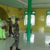 TNI-Polri Lakukan Penyemprotan Disinfektan di Masjid dan Tempat Umum