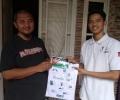 KNRP Kepri Bagi Masker ke Rumah-rumah di Tanjungpinang
