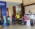Tim DKPP Bintan Semprot Disinfektan di Kantor Bupati Apri Hingga ke Ponpes Madani