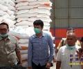 Pimpinan DPRD Natuna dan Lintas Komisi Cek Stok Sembako di Bulog