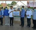 Plt Gubernur Serahkan APD untuk Tim Medis Covid-19 ke Pemko Batam