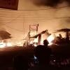 Kebakaran di Jalan Ahmad Yani, Belasan Warung dan Toko Ludes Dilalap Api