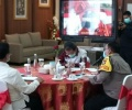Isdianto Pimpin Rakor Tim Pengarah Gugus Tugas Penangangan Covid-19 di Mapolda
