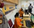 Dampak Covid-19, Polda Kepri Terapkan Besuk Online Bagi Keluarga Tahanan
