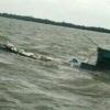 Penampakan Detik-detik Kapal Karam