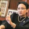 Menlu Retno Harus Diinfus Dua Jam Setiap Hari