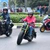 Naik Motor, Jokowi Blusukan ke Pasar Anyar di Tangerang
