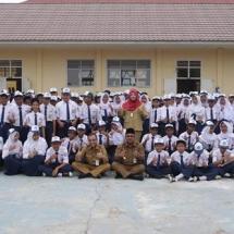Foto Bersama Wali kota Tanjungpinang H Lisdarmansyah dan Kepala Dinas Pendidikan Kota Tanjungpinang HZ Dadang AG