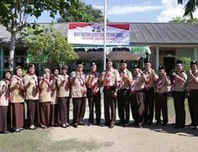 Foto bersama disela acara Bukit Bestari Scout Competion