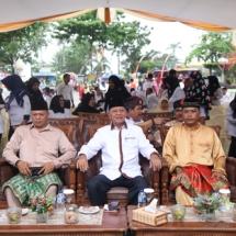 H Sayhrul SPd bersama perwakilan FKPD Tanjungpinang dalam acara Gawai Seni.