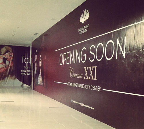 Cinema XXI Hadir di Tanjungpinang City Center!