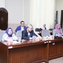 Susilawati dan Hanafi Ekra saat ikut dalam kunjungan kerja LKPJ DPRD di Banten.