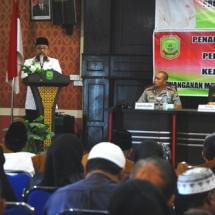 Wali Kota Tanjungpinang H Lis Darmansyah menyampaikan kata sambutan