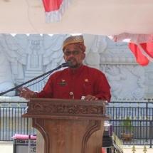 Wali Kota Tanjungpinang H Lis Darmansyah menyampaikan kata sambutan.