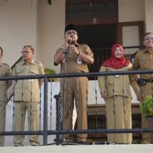 Walikota Tanjungpinang H Lis Darmansyah Saat Memberikan Sambutan