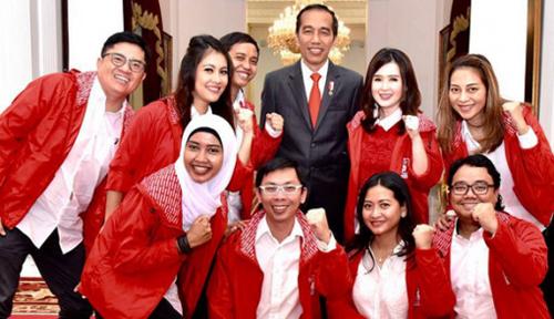 Dukung Jokowi di Pilpres, PSI Keciprat Citra Positif