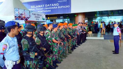 Pasukan TNI Perketat Bandara, Intel Sudah Bergerak