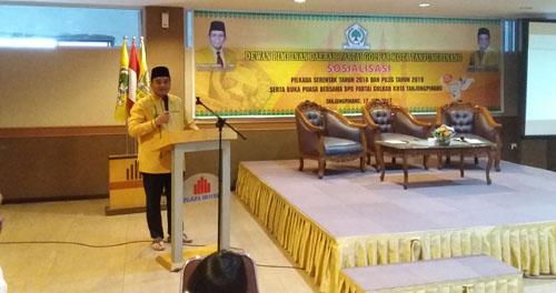 Golkar Tetap di Kursi Wakil untuk Pilwako 2018