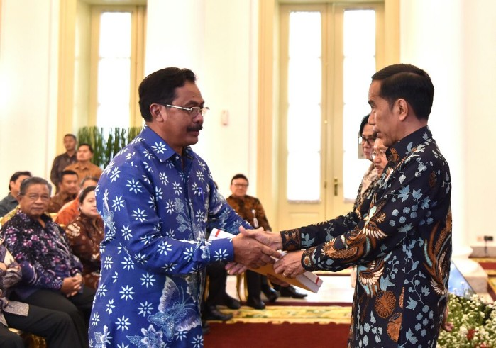 DIPA Untuk Kepri 2018 Rp. 6,997 Triliun, Nurdin: Belanja Operasional Harus Efisien