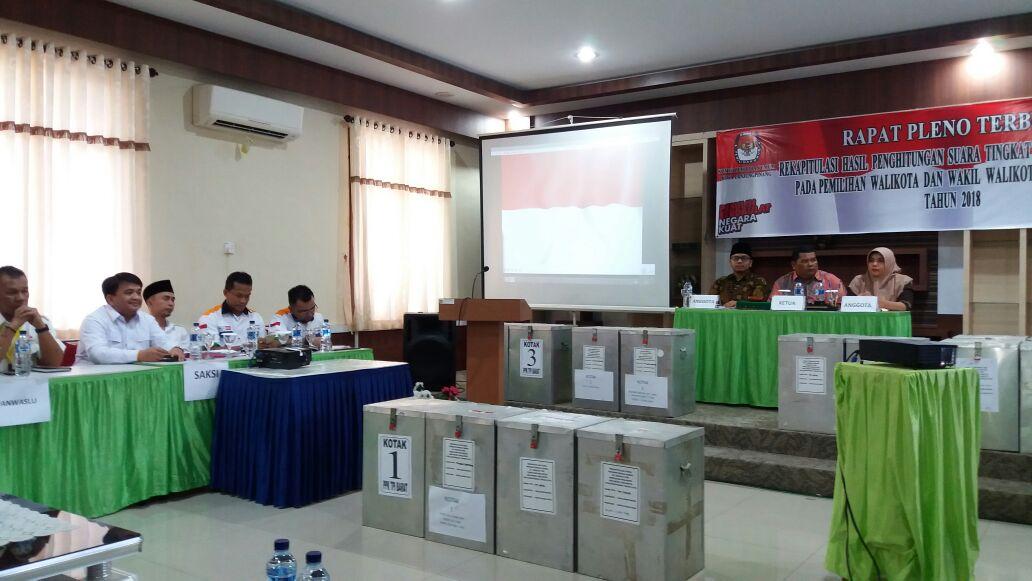 KPU Tetapkan Syahrul-Rahma Pemenang Pilwako Tanjungpinang