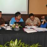 rekon data logistik antara kabupaten dengan petugas simlog