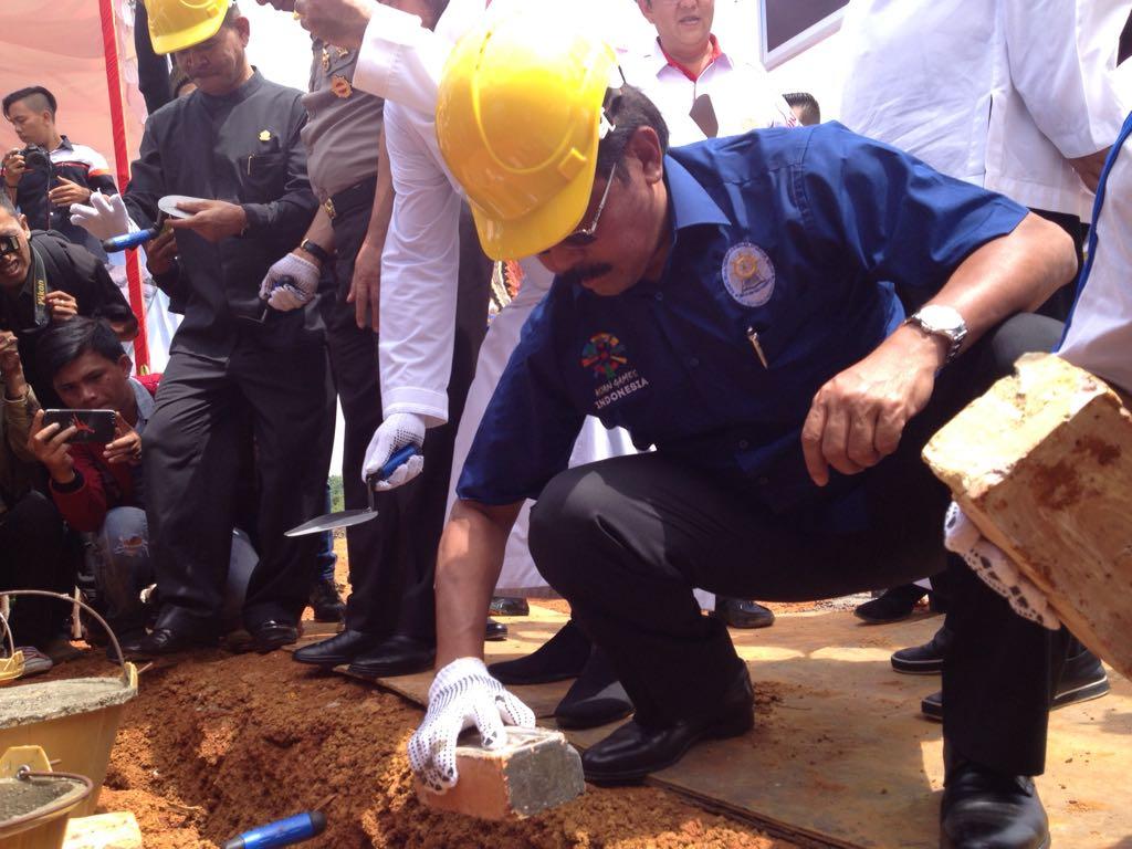 Pabrik Rokok Dibangun, Nurdin: Jangan Jadi Peletakkan Batu Pertama & Terakhir