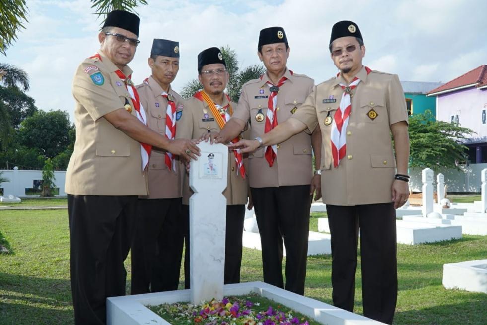 Wagub Pimpin Ziarah Kwarda Kepri ke Makam Pahlawan